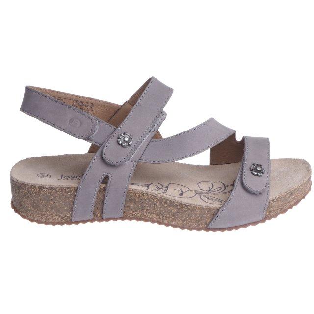 Dámské sandály Josef Seibel 78553-724710 šedé