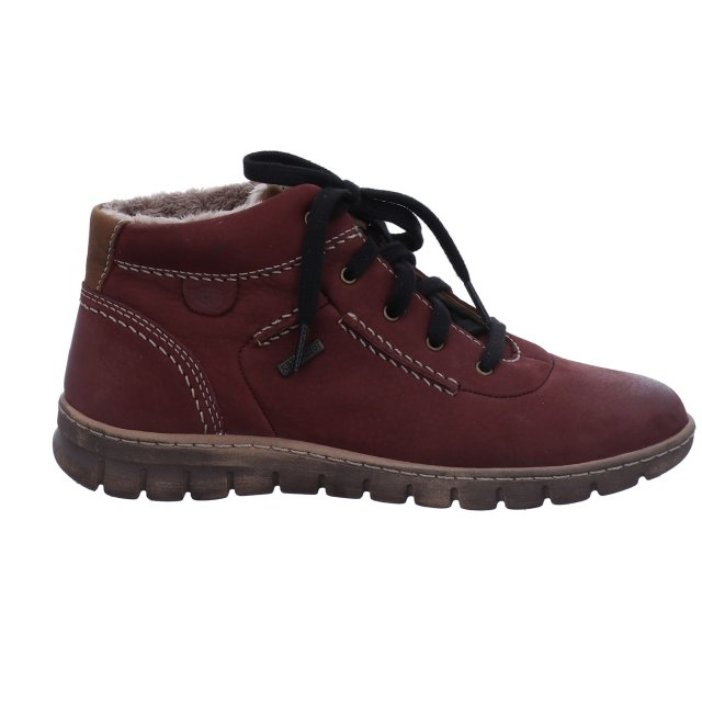 Dámské voděodolné kotníkové boty Josef Seibel 93153-VL869410 vínové