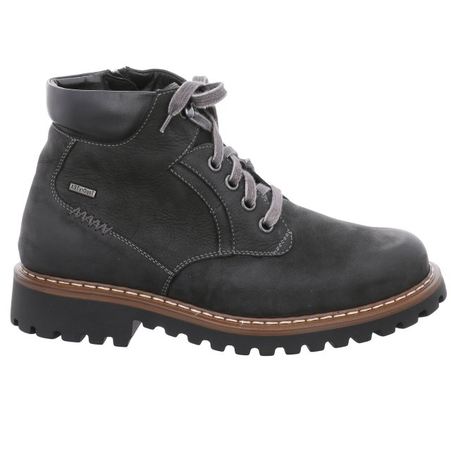 Pánské voděodolné kotníkové boty Josef Seibel 21958-MA994100 černé