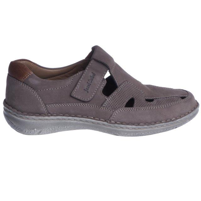 Pánské extra široké sandály Josef Seibel 43635-81710 šedé