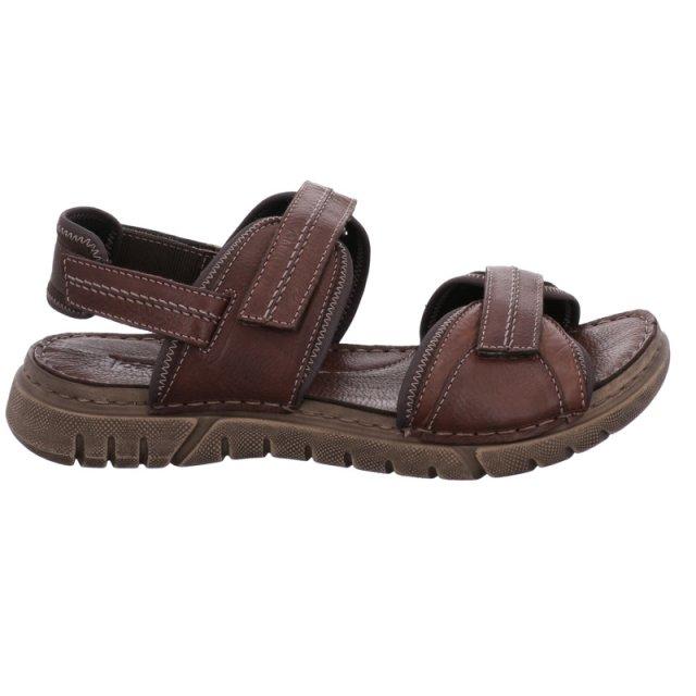 Pánské sandály Josef Seibel 45341-344310 hnědé