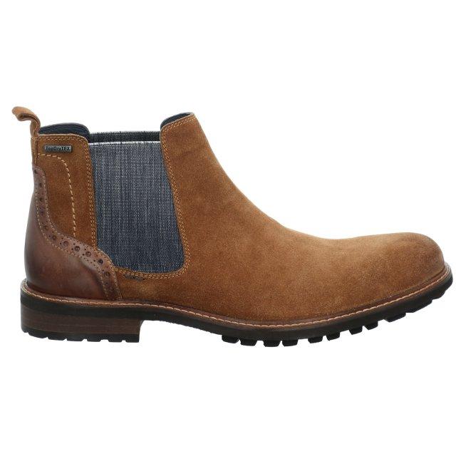 Pánské voděodolné kotníkové boty Josef Seibel 24750-TE16241 hnědé