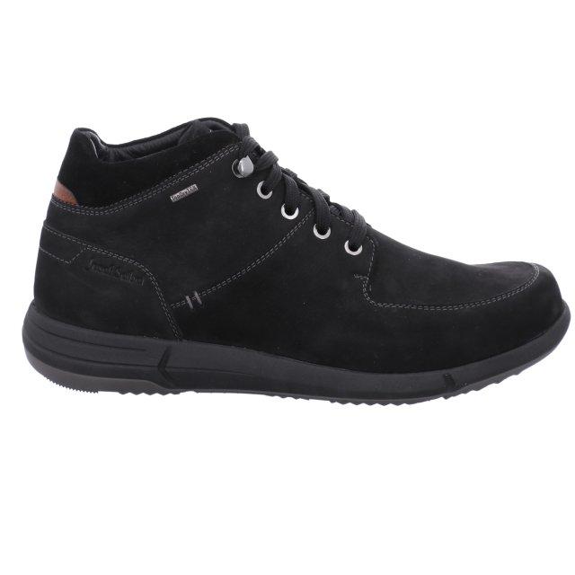 Pánské voděodolné kotníkové boty Josef Seibel 25352-MA21100 černé