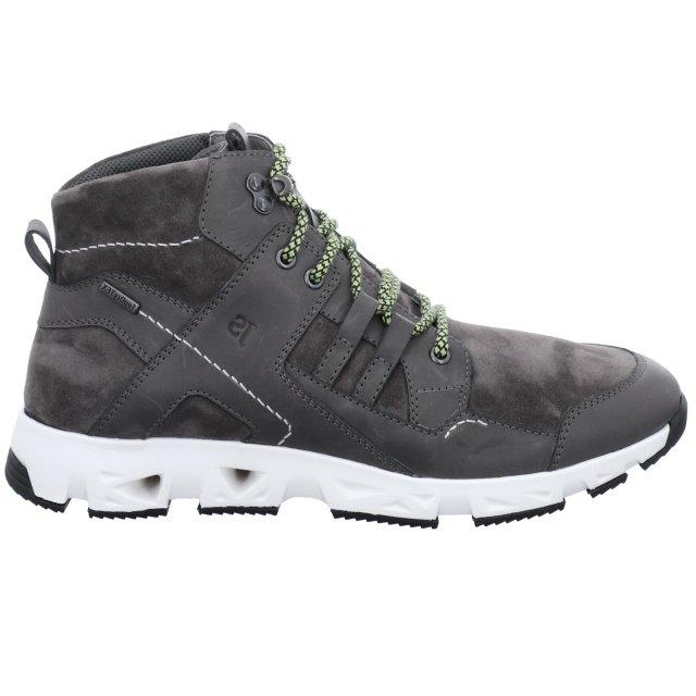 Pánské voděodolné kotníkové boty Josef Seibel 37651-TE949780 šedé