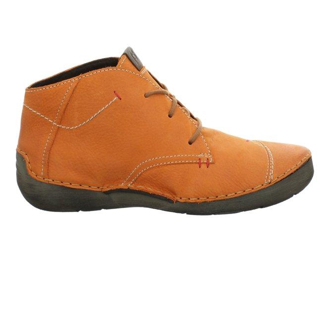 Dámské kotníkové boty Josef Seibel 59690-MI796840 oranžové