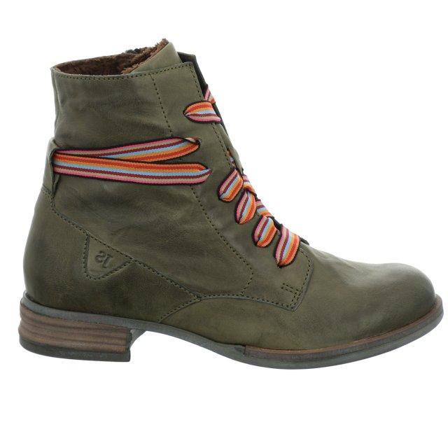 Dámské kotníkové boty Josef Seibel 76504-VL160630 zelené