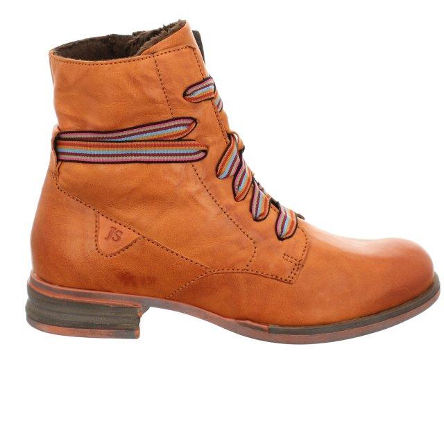 Dámské kotníkové boty Josef Seibel 76504-VL160840 oranžové