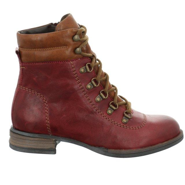 Dámské kotníkové boty Josef Seibel 76509-MI160411 červené
