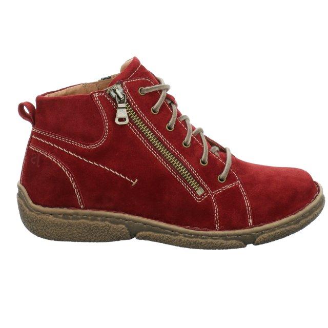 Dámské kotníkové boty Josef Seibel 85151-944400 červené