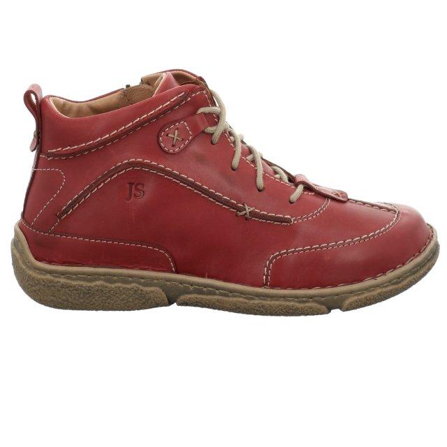 Dámské kotníkové boty Josef Seibel 85152-162450 červené