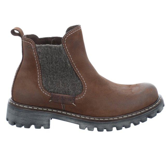 Dámské kotníkové boty Josef Seibel 85203-MI994311 hnědé