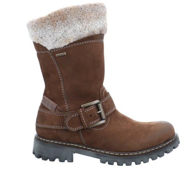 Dámské voděodolné kotníkové boty Josef Seibel 85251-PL994311 hnědé