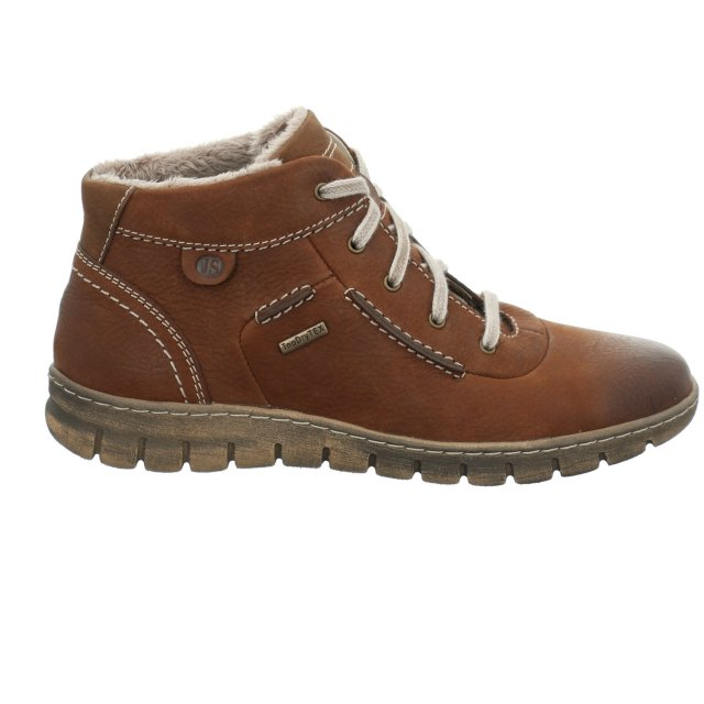 Dámské voděodolné kotníkové boty Josef Seibel 93153-VL869371 hnědé