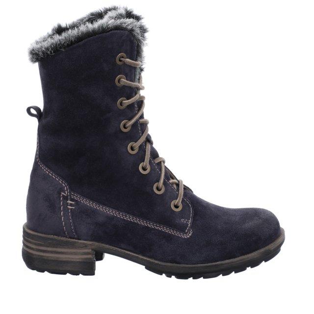 Dámské zateplené kotníkové boty Josef Seibel 93893-PL949540 modré