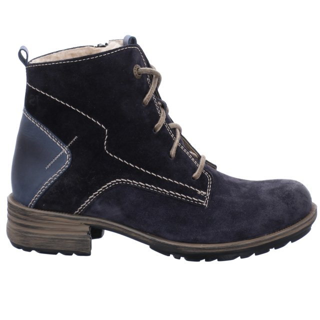 Dámské zateplené kotníkové boty Josef Seibel 93896-PL949540 modré