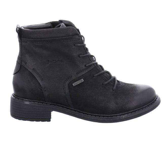 Dámské voděodolné kotníkové boty Josef Seibel 97450-VL784100 černé