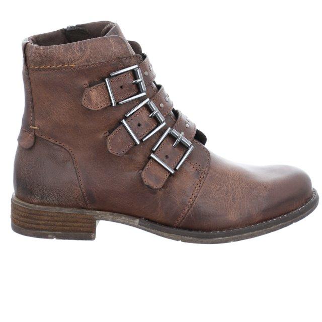 Dámské kotníkové boty Josef Seibel 99634-MI720250 hnědé