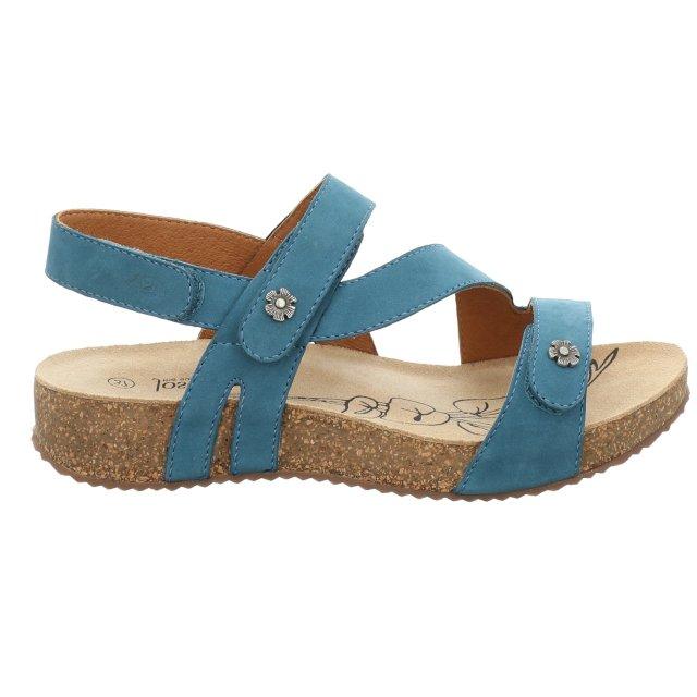 Dámské sandály Josef Seibel 78553-724515 modré