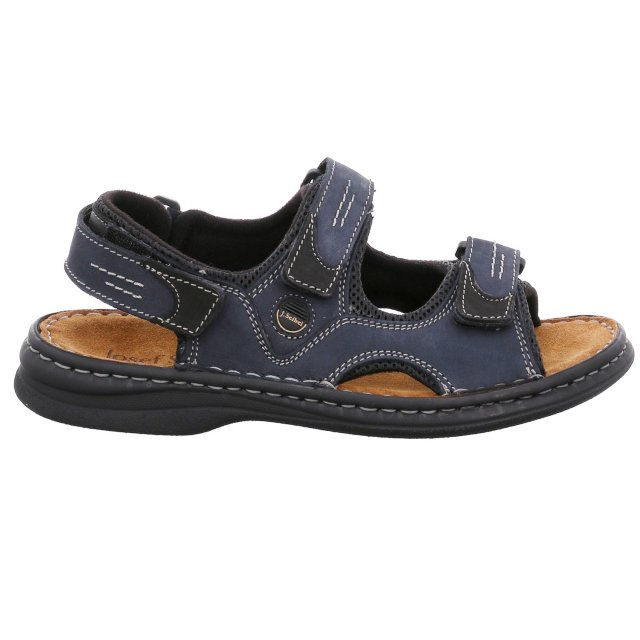 Pánské sandály Josef Seibel 10236-11582 modré