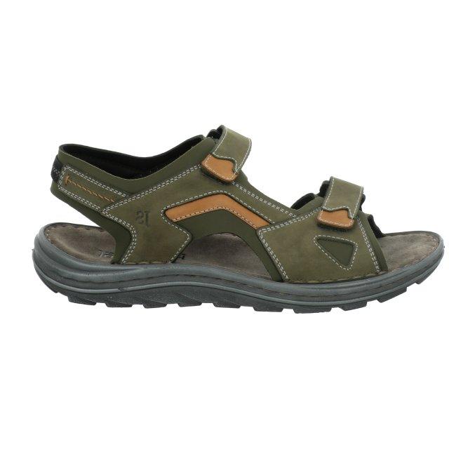 Pánské sandály Josef Seibel 15321-TE994632 zelené
