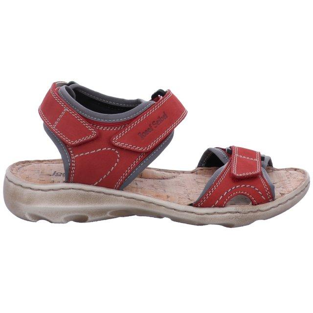 Dámské sandály Josef Seibel 63501-784471 červené
