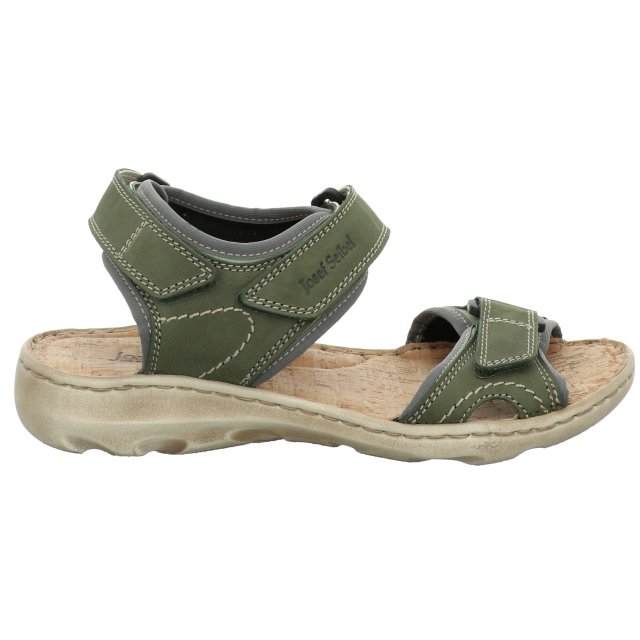 Dámské sandály Josef Seibel 63501-784631 zelené