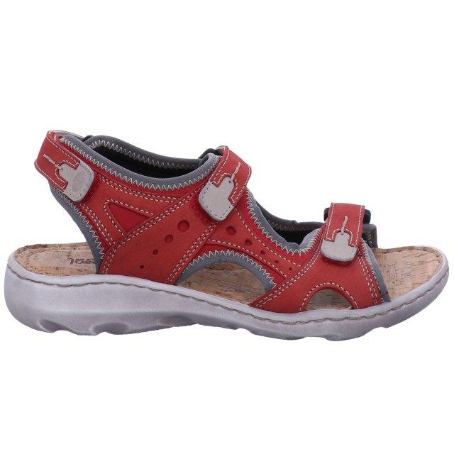 Dámské sandály Josef Seibel 63502-784471 červené