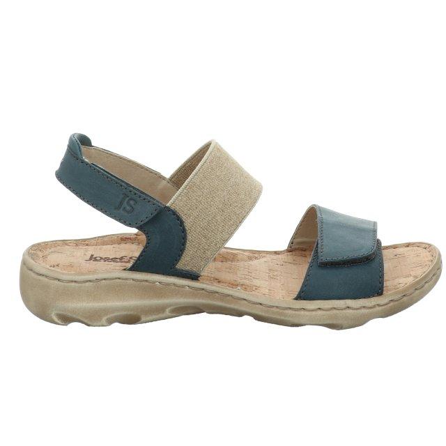 Dámské sandály Josef Seibel 63506-193516 modré