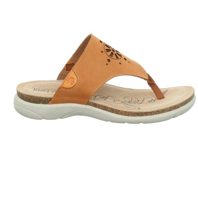 Dámské sandály Josef Seibel 69711-784840 oranžové