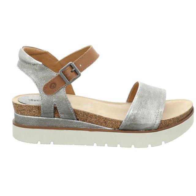 Dámské sandály Josef Seibel 72801-33731 stříbrné