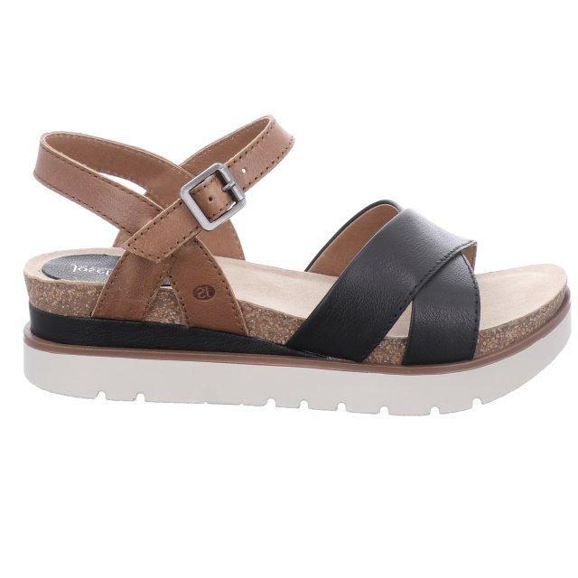 Dámské sandály Josef Seibel 72810-128101 černé