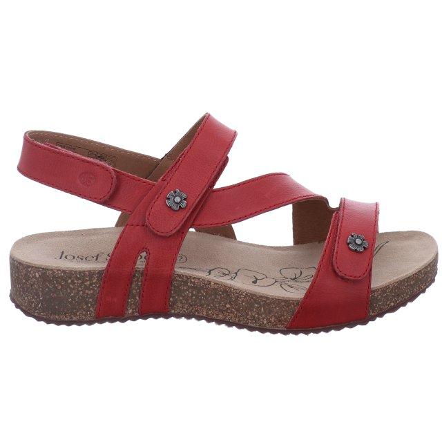 Dámské sandály Josef Seibel 78553-128400 červené