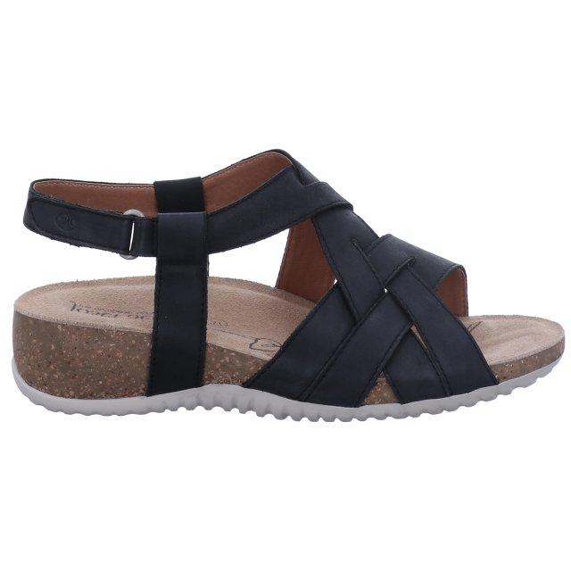 Dámské sandály Josef Seibel 78816-815100 černé