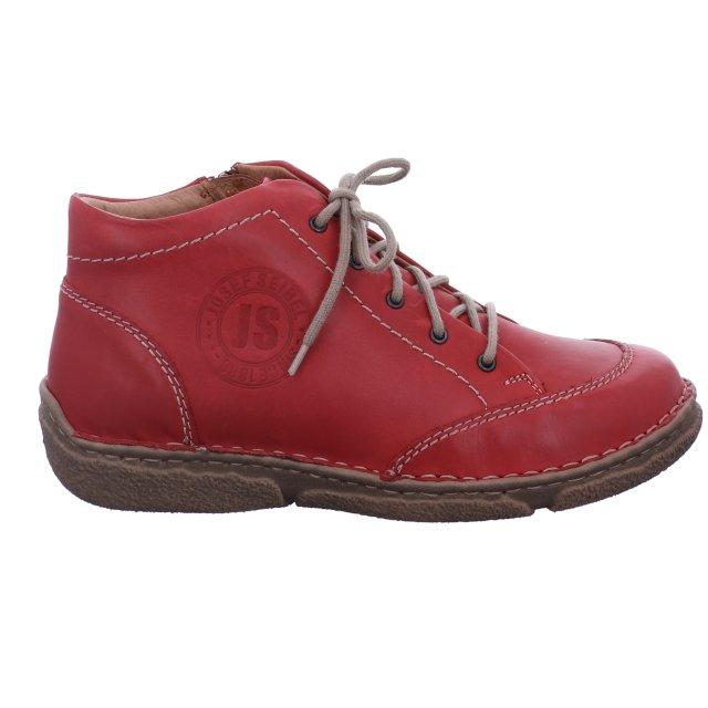 Dámské kotníkové boty Josef Seibel 85101-950380 červené