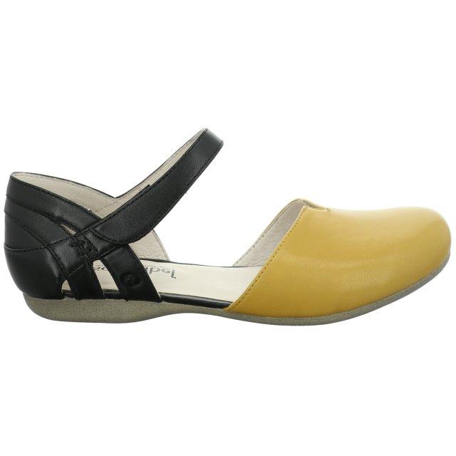 Dámské sandály Josef Seibel 87267-971801 černožluté