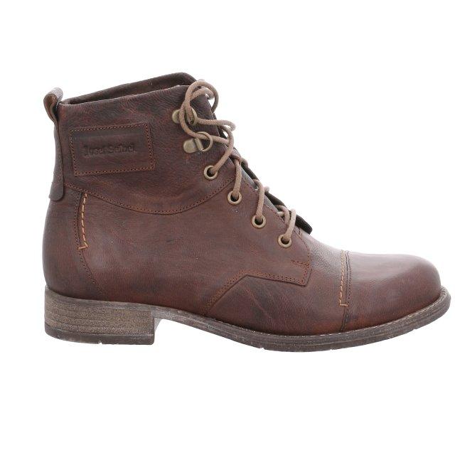 Dámské zateplené kotníkové boty Josef Seibel 99617-MI720240 hnědé